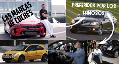 Ejemplos de marcas de coches preferidas por los famosos