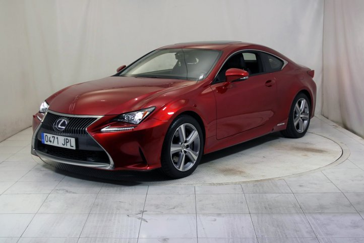 Lexus Rc 300H 2.5 EXECUTIVE de segunda mano - Frontal lateral izquierdo