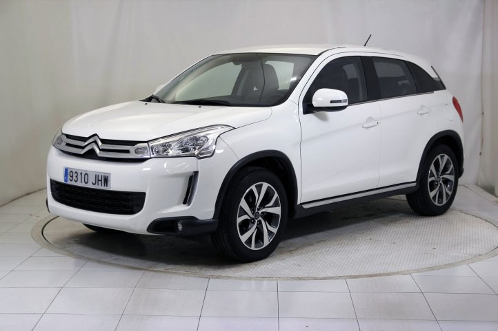 Citroen C4 Aircross 1.6 E-HDI 115 COLLECTION 5P de segunda mano - Frontal lateral izquierdo