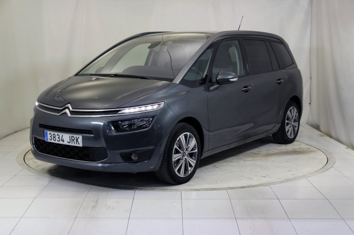 Citroen Grand C4 Picasso 1.6 BLUEHDI 120 FEEL 7 PLAZAS de segunda mano - Frontal lateral izquierdo