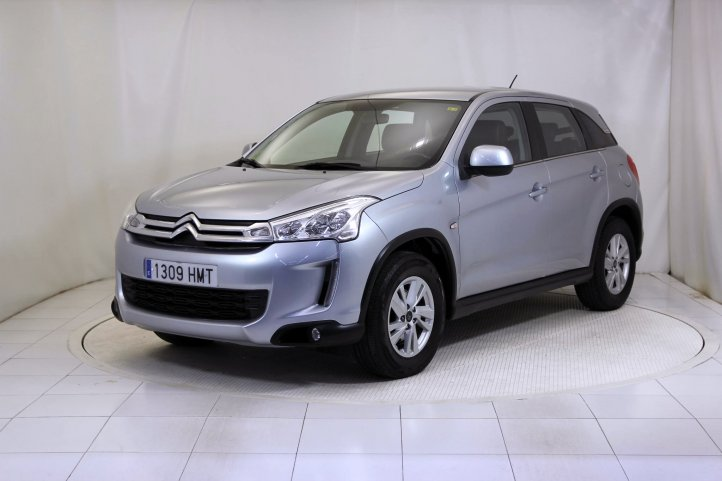 Citroen C4 Aircross 1.6 HDI SEDUCTION de segunda mano - Frontal lateral izquierdo