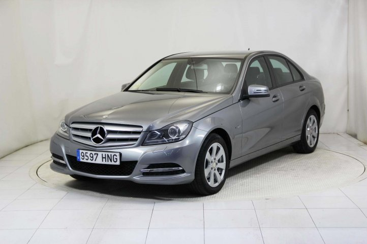 Mercedes-Benz Clase C 200 CDI BLUE EFFICIENCY 4P de segunda mano - Frontal lateral izquierdo