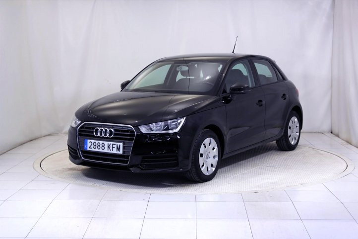 Audi A1 SPORTBACK 1.4 TDI ATTRACTION de segunda mano - Frontal lateral izquierdo