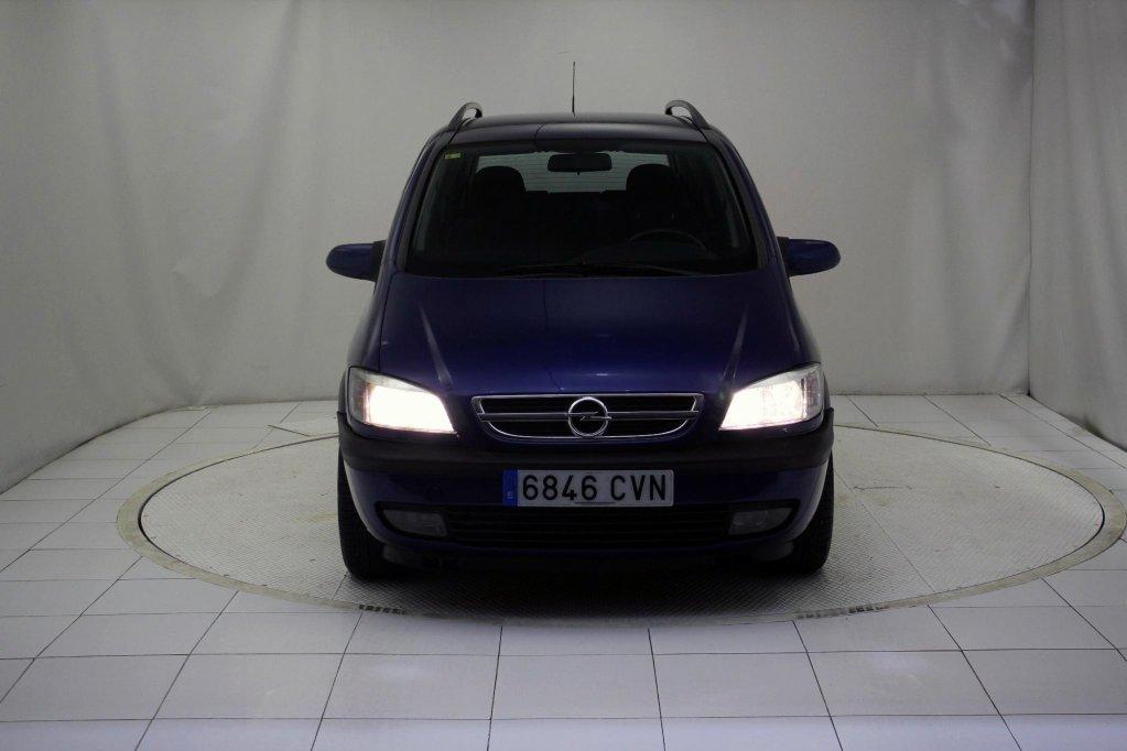 Opel Zafira 20 Dti 16v Elegance 7 Plazas Usado Con 7 Plazas Barato