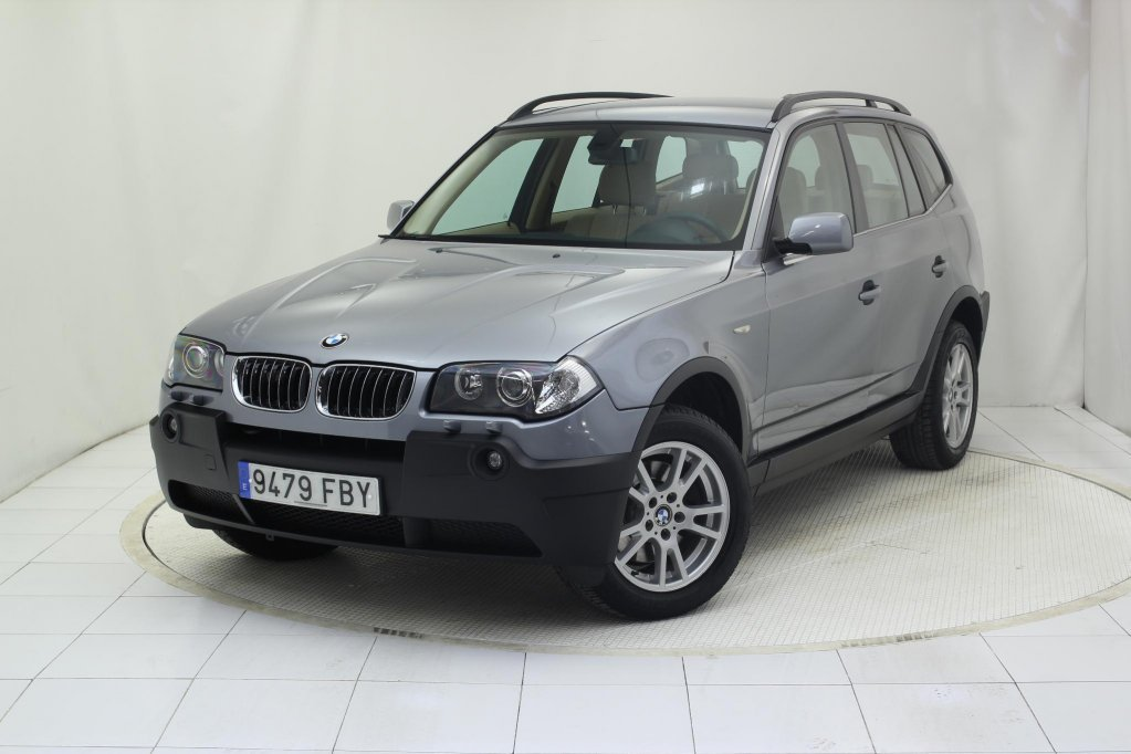 bmw x3 3 0d 5p usado en oferta todoterreno madrid 623. Black Bedroom Furniture Sets. Home Design Ideas