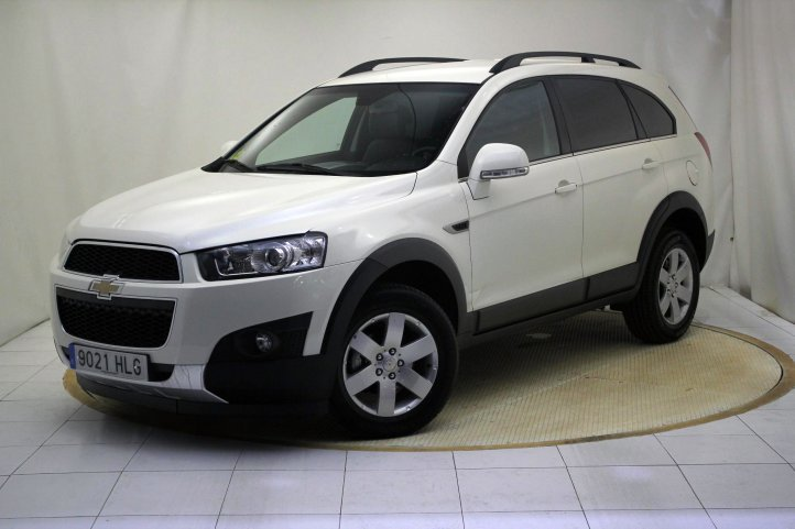 Chevrolet Captiva segunda mano Madrid