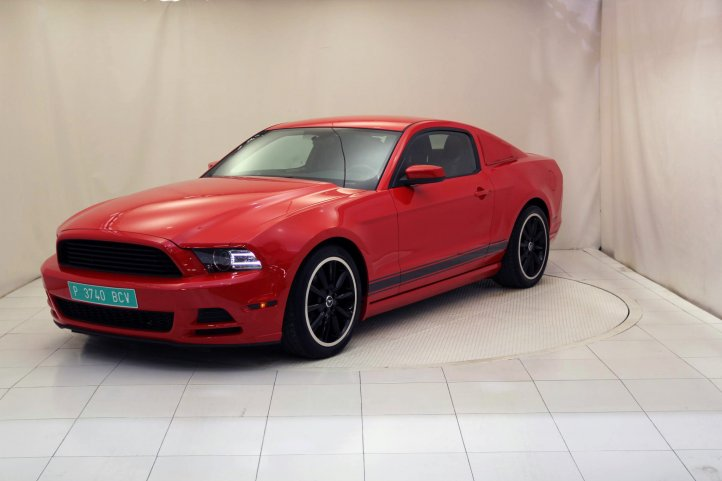 Ford Mustang 3.7 V6 ROUSH PERFORMANCE de segunda mano - Frontal lateral izquierdo