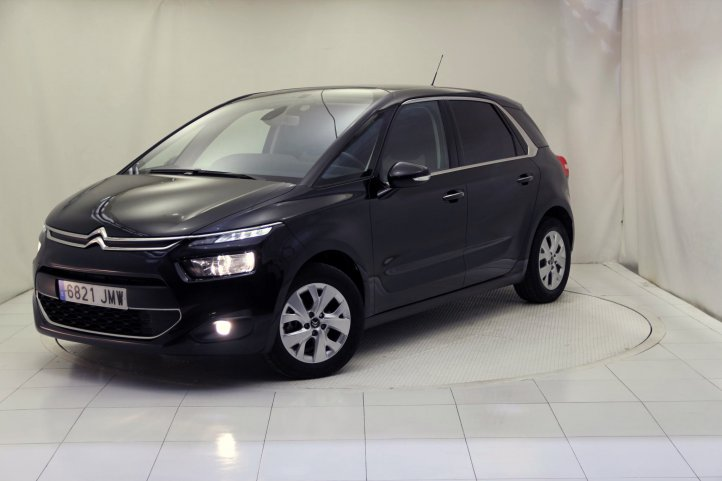 Citroen C4 Picasso 1.6 BLUEHDI 120 FEEL EDITION de segunda mano - Frontal lateral izquierdo