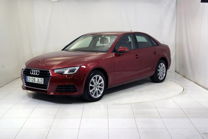 Audi A4 2.0 TDI S TRONIC ADVANCED EDITION de segunda mano - Frontal lateral izquierdo