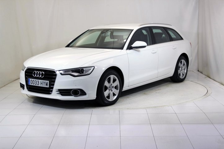 Audi A6 AVANT 2.0 TDI MULTITRON ADVANCED EDITION de segunda mano - Frontal lateral izquierdo